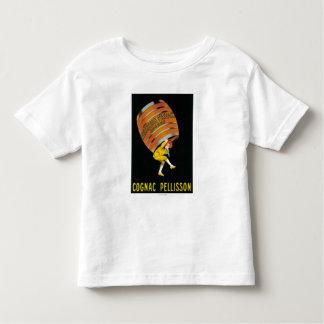 Promocional PosterFrance de Pellisson do conhaque Camisetas