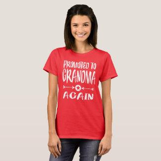 Promovido ao t-shirt do presente da avó da avó
