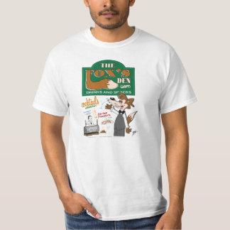 Propaganda do antro do Fox dos desenhos animados Tshirt