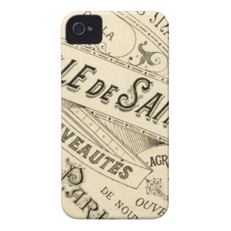 Propaganda francesa do vintage - Blackberry Capa iPhone 4 Case-Mate