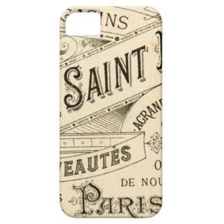 Propaganda francesa do vintage - iPhone 5 Capa Para iPhone 5
