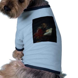 Prophetess Anna de Rembrandt- (mãe do ` s de Rembr Roupas Pet