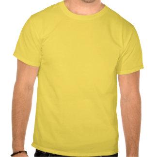 Propriedade da casa branca t-shirts