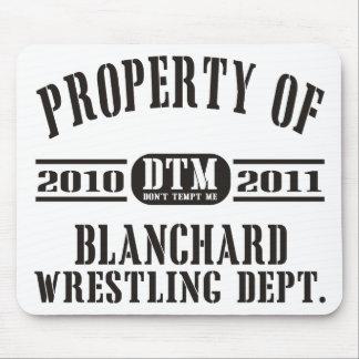 Propriedade da luta de Blanchard Mouse Pad