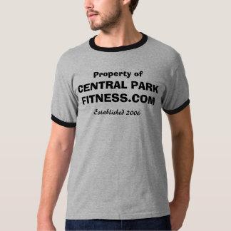 Propriedade da malhação do Central Park T-shirts