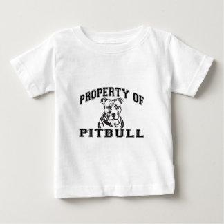 Propriedade de Pitbull Camiseta