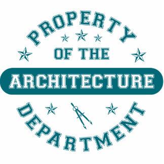 Propriedade do departamento da arquitetura escultura fotos