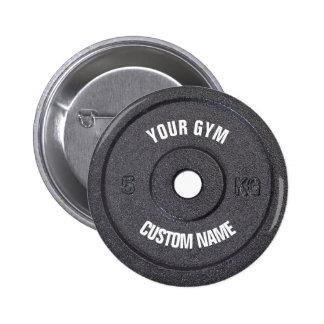Proprietário do Gym ou botão engraçado do usuário Bóton Redondo 5.08cm