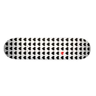 proscrito do amor shape de skate 20cm