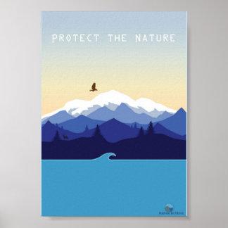 Protect Natural Pôster