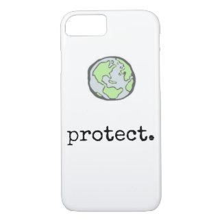 Proteja nossa capa de telefone do planeta