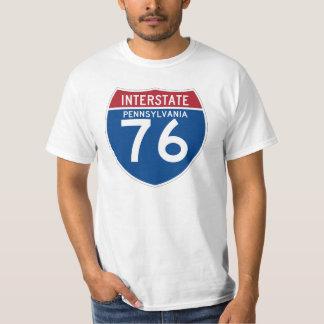 Protetor da estrada nacional do PA I-76 de T-shirts