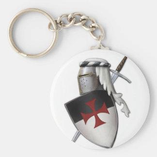 Protetor de Templar dos cavaleiros Chaveiro