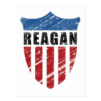 Protetor do patriota de Reagan Cartão Postal