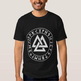 protetor do Rune do Tri Triângulo da camisa no T-shirts