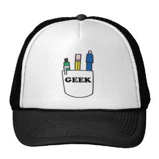Protetor engraçado do bolso do GEEK Boné