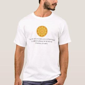 Provérbio chinês inspirado tshirt