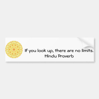 provérbio Hindu inspirado de India Adesivos