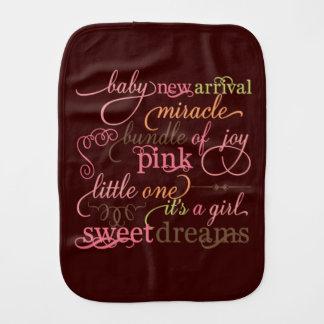 Provérbios do bebê paninho de boca