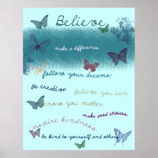Provérbios inspirados poster