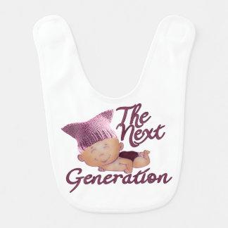 Próxima geração #2D feminista Babador Infantil