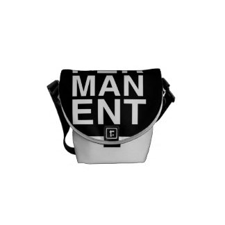 PSBS - A mini bolsa mensageiro fora de perminant