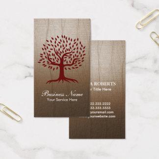 Psicologia do bem-estar da ioga do logotipo da cartão de visitas