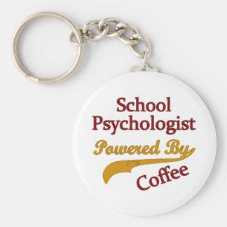 Psicólogo da escola psto pelo café chaveiro