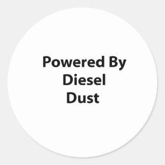 psto pela poeira diesel adesivo