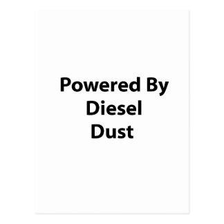 psto pela poeira diesel cartão postal