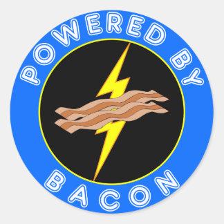 Psto pelo bacon adesivo