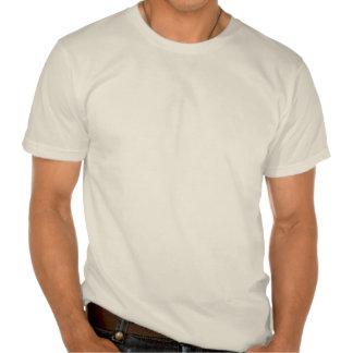 Psto pelo bacon orgânico homens tshirts