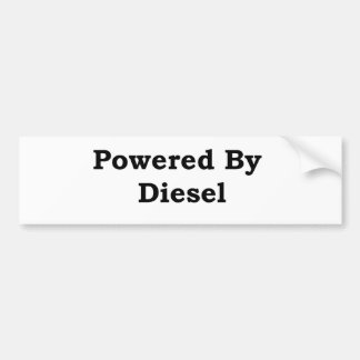 Psto pelo diesel adesivo para carro