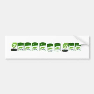 psto por etiquetas do opensuse adesivo para carro