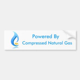 Psto por gás natural comprimido adesivo para carro