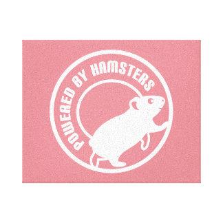 Psto por hamster impressão em tela