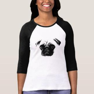 pug+camiseta camisetas