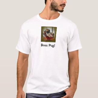 Pug do chefe! tshirt