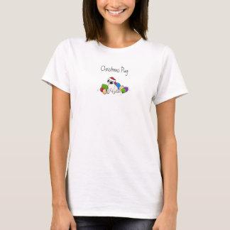 Pug do Natal T-shirts