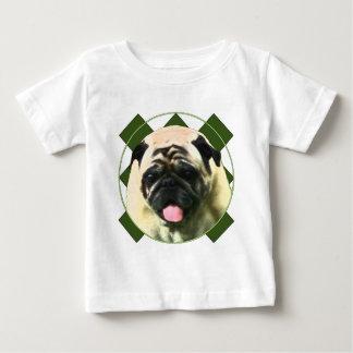 Pug feliz t-shirt