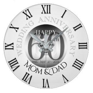 Pulso de disparo B N romano do aniversário de Relógio Grande