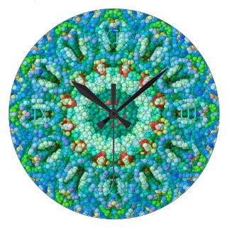 Pulso de disparo do Bolha-Mosaico mim Relógios De Pendurar
