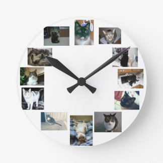 Pulso de disparo do gato relógios para paredes