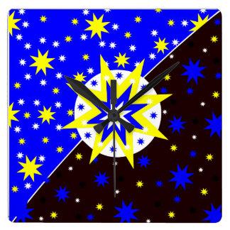 Pulso de disparo positivo das estrelas relógios para paredes