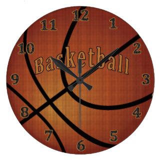Pulsos de disparo do basquetebol relógios de paredes