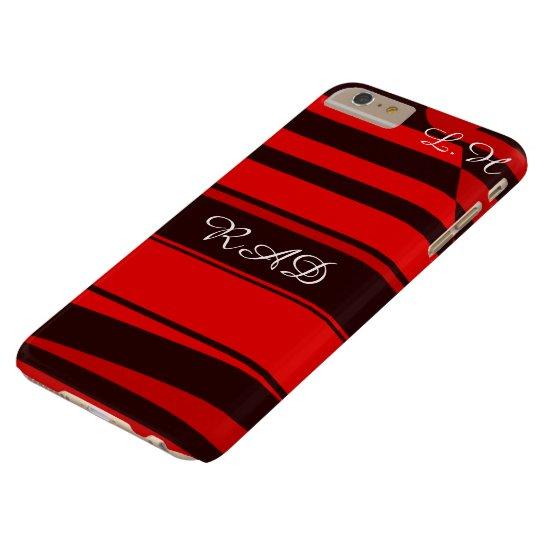 Punk vermelho e preto do temerário de Emo Capas iPhone 6 Plus Barely There