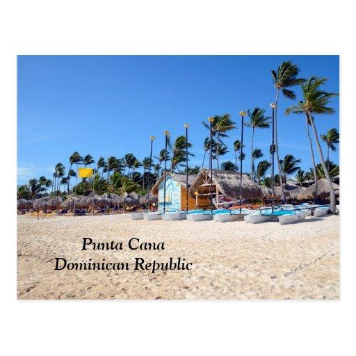 Punta Cana na República Dominicana Cartoes Postais