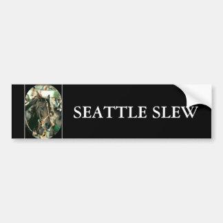 Puro-sangue 1978 do pântano de Seattle Adesivo Para Carro
