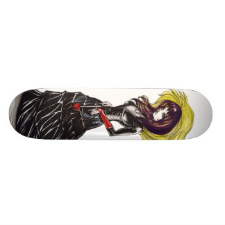 Purrr gótico shape de skate 20cm