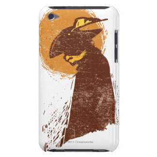 Puss In Boots Silhouette iPod Case-Mate Cases